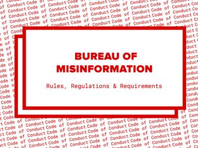 Bureau of Misinformation // Burning Man camp guide
