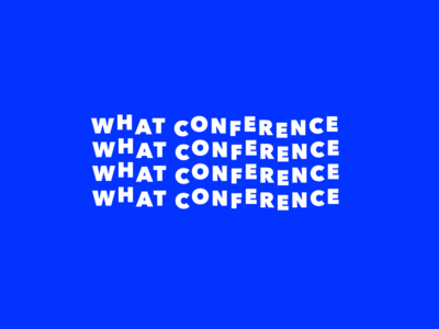 What Conference Logo