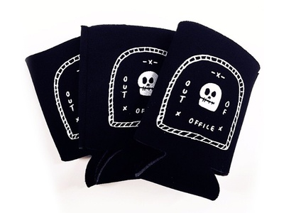 Out of Office Koozies