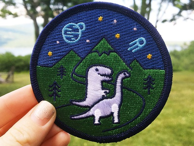 Space Mountain Dino Patch