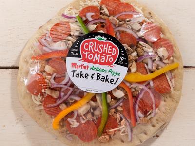 Crushed Tomato Take & Bake Pizzas