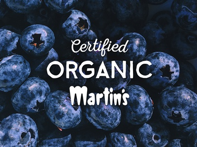 Martin's Certified Organic Logo