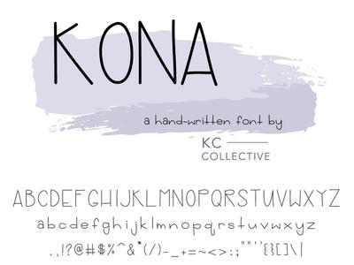 Kona Font