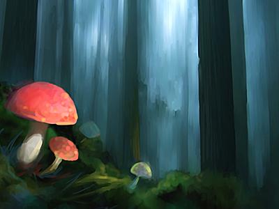 Fairy Tale illustration art artwork drawn drawing paint painting