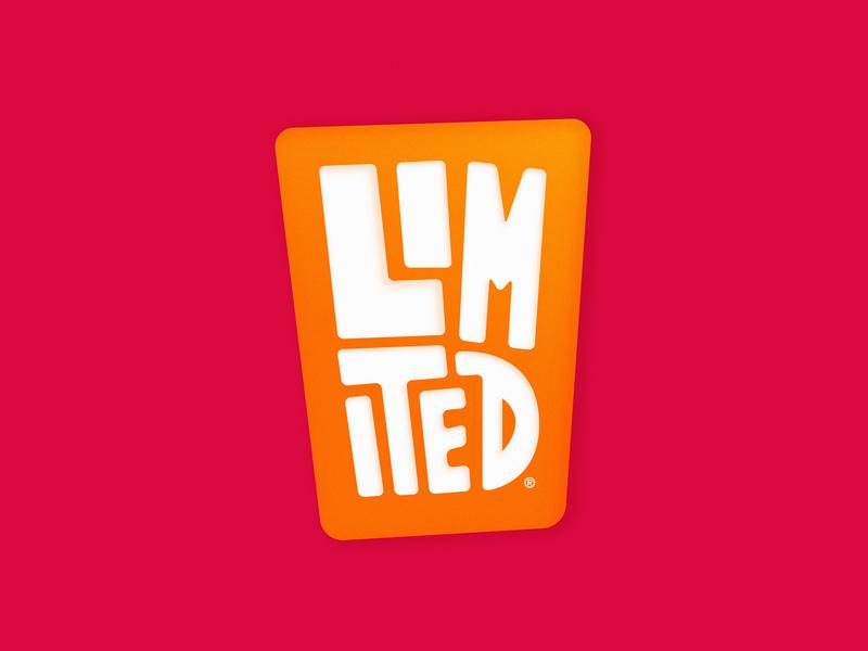 Limited hand letter logo design logotype logo