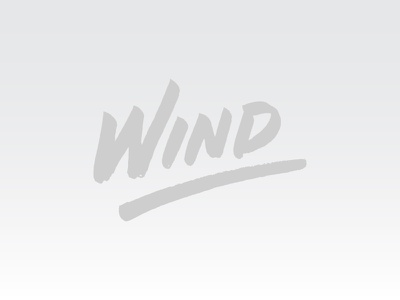 Wind type calligraphy hand writting lettering wind