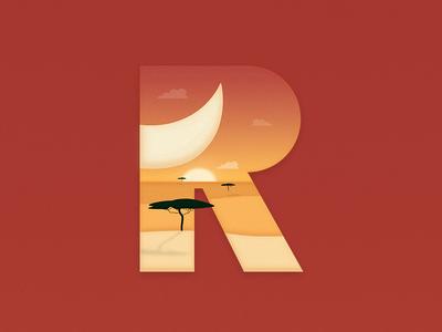 36 Days of Type - R