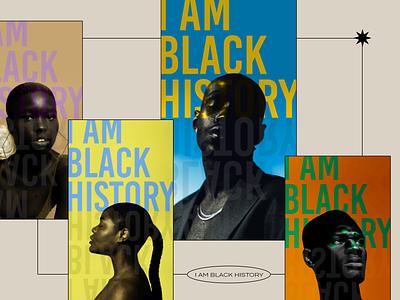 I am blk history commission ux web minimal illustrator flat design black history month t shirts black history month black history