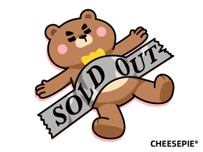 Mr Bear Sold Out bear