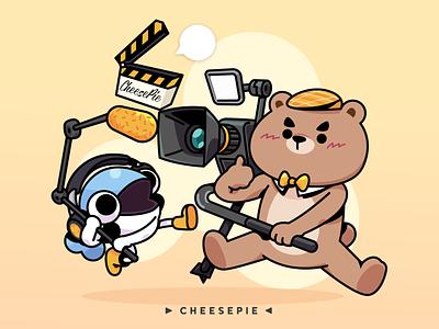 Cheesepie film industry film camera fish bear