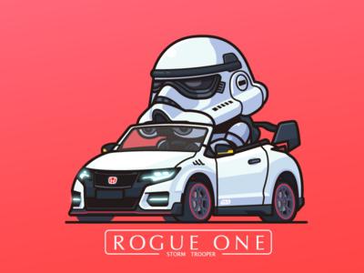 Storm Street Racer ai car trooper storm typer civic honda