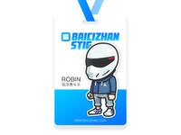 Employee card for Robin
