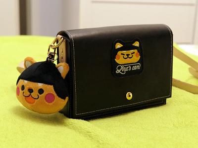 Lina's Cam Bag(handmade) bag handmade plush pendant dog