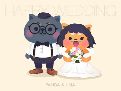 Panda & Lina's Wedding photo vol 02 (finish)