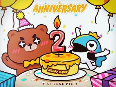 Anniversary CheesePie