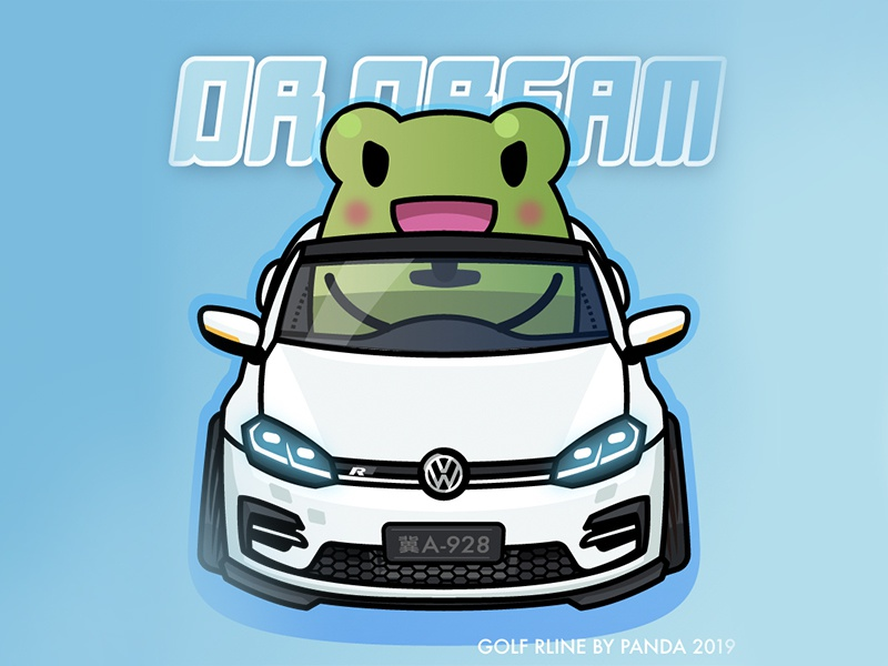 Dr'Dream's Golf Rline rline golf vw frog