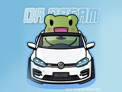 Dr'Dream's Golf Rline rline golf vw frog