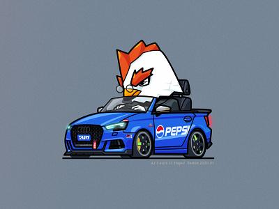 Aji's Audi S3 rays audi chicken car
