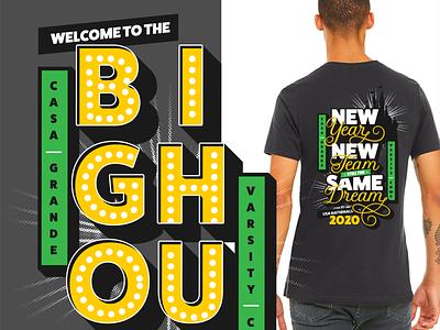 Casa Grande Nationals 2020 T-Shirt Design t-shirt design apparel cheerleader design illustrator vector illustration