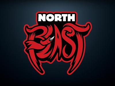 North Beast Cheer Collective | Logo Design cheerleading logo branding design vector illustrator illustration