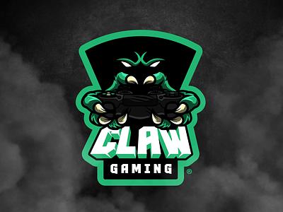 CLAW™ Gaming | eSports Channel Logo Design mascot illustrator vector illustration sports logo gaming esportlogo esports