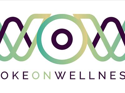 Woke On Wellness Logo Design minimal health wellness logo wellness logo branding design illustrator vector