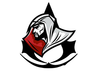Assassin's Creed Sports Logo esports mascot gaming esports mascot logo branding design illustrator illustration vector