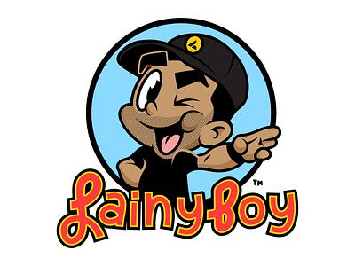 Lainy Boy Mascot | Coach Lain music logo parody t-shirt design characterdesign character apparel mascot design illustrator illustration vector