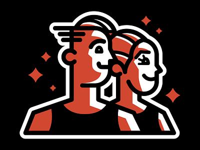 The Residents | 2016 Identity branding vector logo design illustration