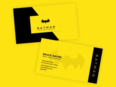 Batman - Business Card