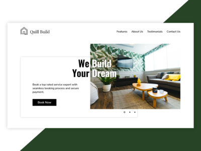 Quill Build - Landing Page