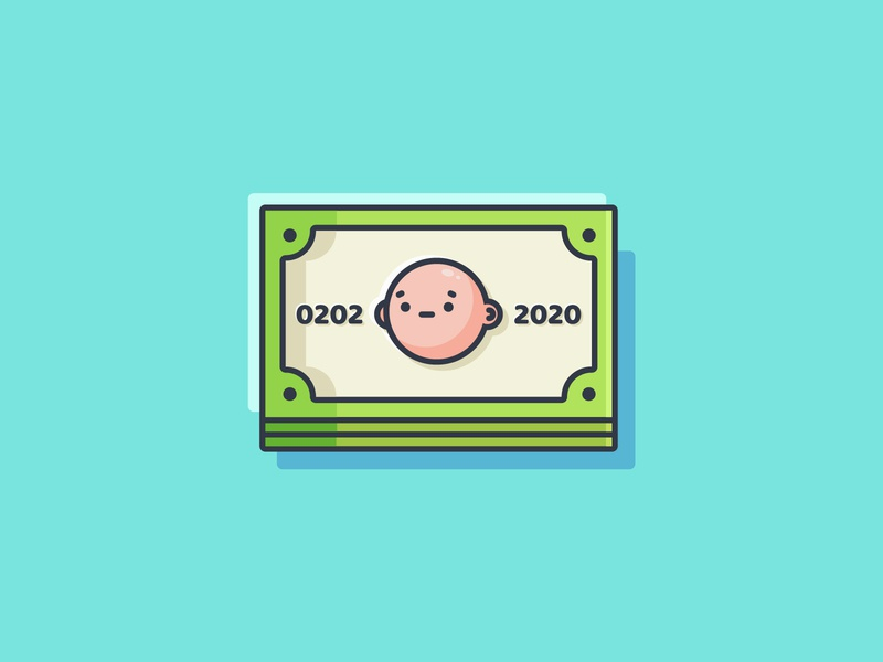 Gaming Cash character design coin icon cash icon game icon illustration