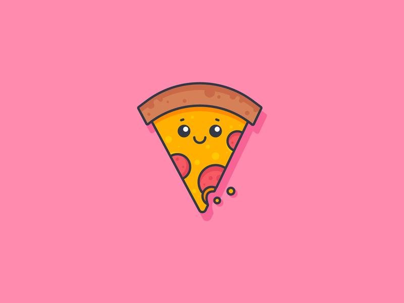 Pizza Mascot illustration character design mascot design pizza icon