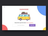 Subscribe UI