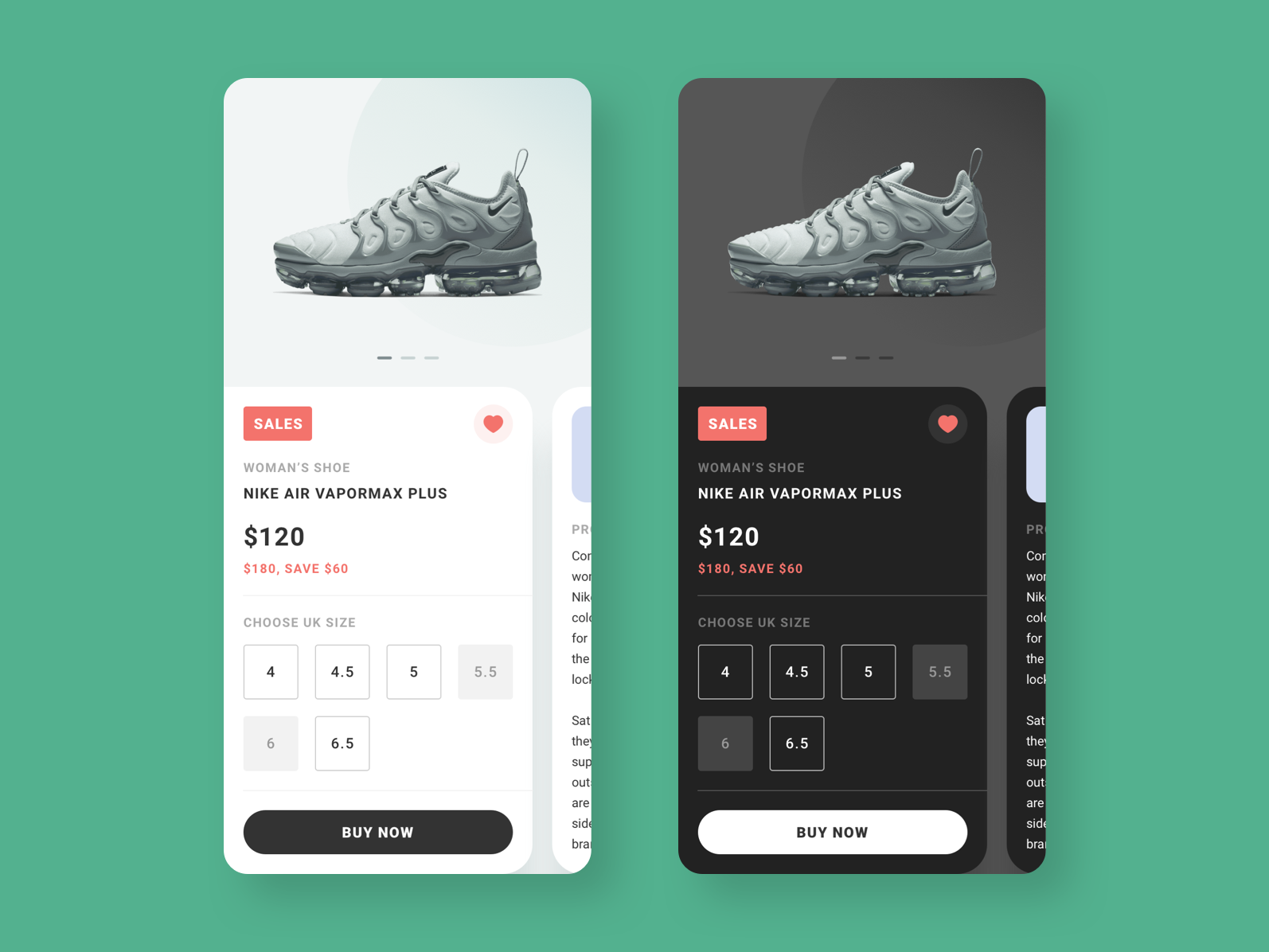 Product Design light dark product design ui ux mobile ui