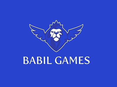 Babil logo branding illustration brand logo lion babil