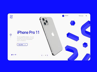Eror presentation ui store tech ecommerce webdesign