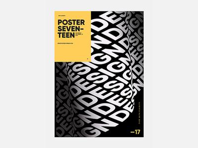 design poster posteraday zeroposters ملصق