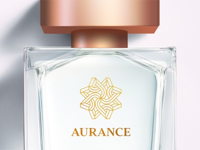 Aurance logo perfume brand logo