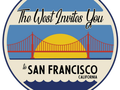 The West Invites You sticker