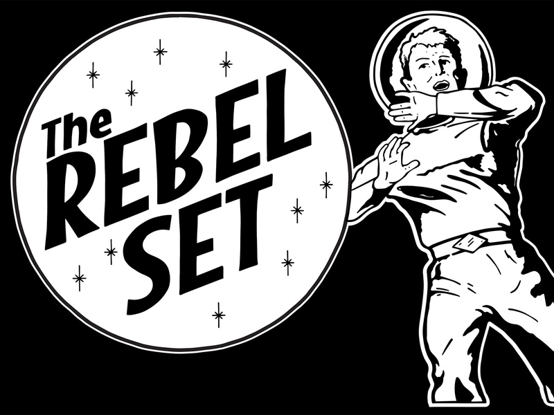 Rebel Set T Shirt rock n roll apparel illustration