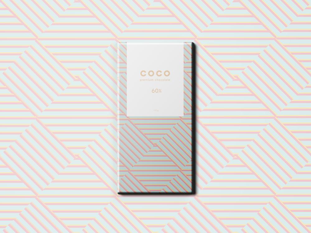 Coco Chocolate 2 pastel color branding design pastel packaging colorful vector adobe branding logo design