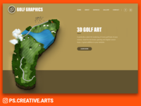 Golf Graphics Website
