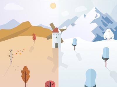 Illustrating the seasons