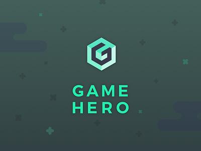 Game Hero game hero app mobile design digital hero game logo