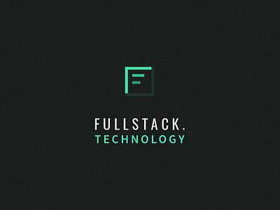 Fullstack.Technology Logo corporate identity digital design development software logo technology fullstack