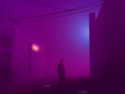 Misty Nights Illustration