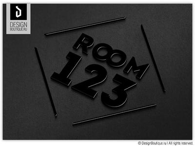 "Yanmcline ""Room 123"" - corporate identity"