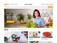 AniaStarmach.pl - Webdesign Recip Portal