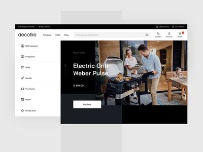 Decofire - Shopping Experience principleapp principle shop app ecommerce e-commerce experience process video animation shopping webdesign